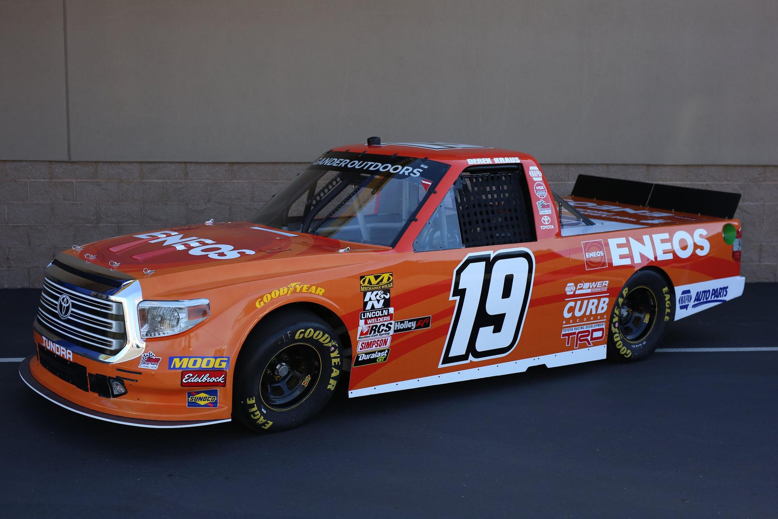 Derek Kraus ready for Truck Series event at Martinsville Speedway